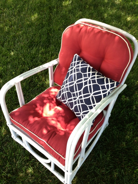 Bamboo Patio Chair