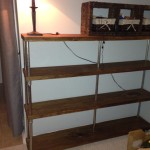 Rustic bookshelf - after 01