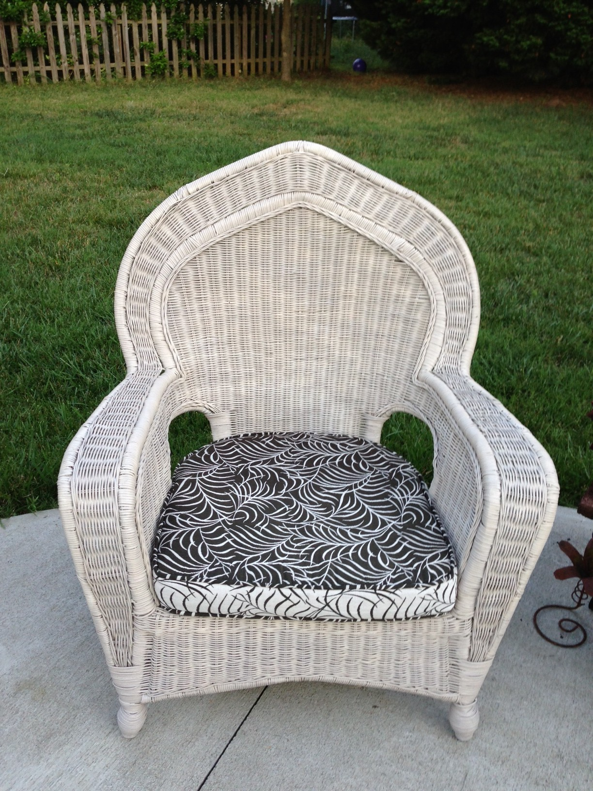 Pier 1 wicker seats fresh vintage nc