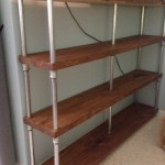 Rustic bookshelf - after 03