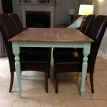 Maple Butcher Block Kitchen Table