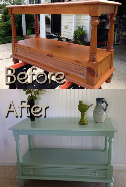 BeforeAfter-BroyhillSideboard