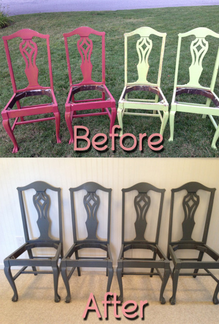 BeforeAfter-MahoganyChairsGray