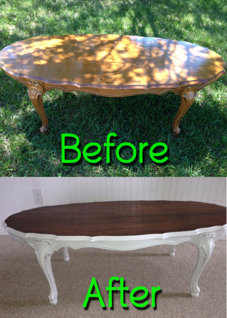BeforeAfter-OvalCoffeeTable