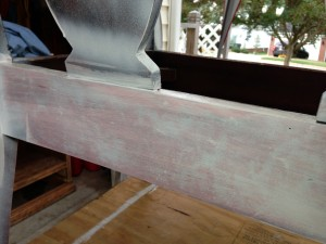 Mahogany bleeding through primer