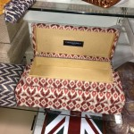 Ikat fabric covered boxes