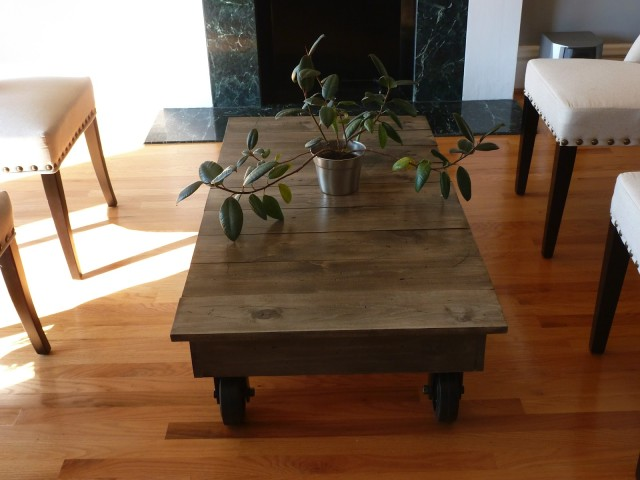 FactoryCart Coffee Table