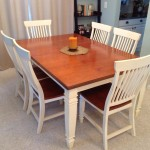 Walnut dining set 08