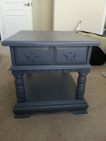 Broyhill End Table With Drawer Fresh Vintage Nc