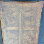 Walnut 1-drawer end table 04