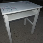 Vintage kids desk & chair 14