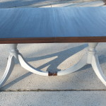 Duncan Phyfe table with leaf 21