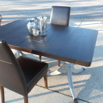 Duncan Phyfe table with leaf 20