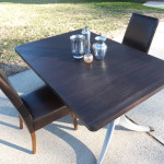 Duncan Phyfe table with leaf 18