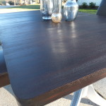 Duncan Phyfe table with leaf 16