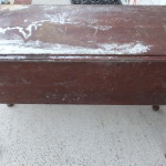 Vintage drop leaf sideboard 05