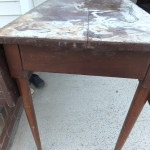 Vintage drop leaf sideboard 02