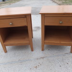 Simple pine nightstands 01