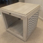 Modern cube style end table 13