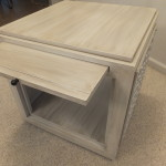 Modern cube style end table 14