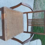 Vintage upholstered chair 01