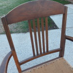 Vintage upholstered chair 02