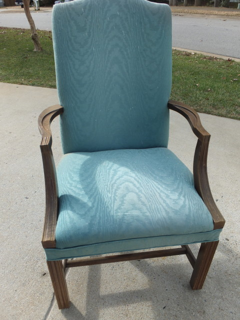 Upholstered side chair 01