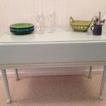 Vintage drop leaf table 20