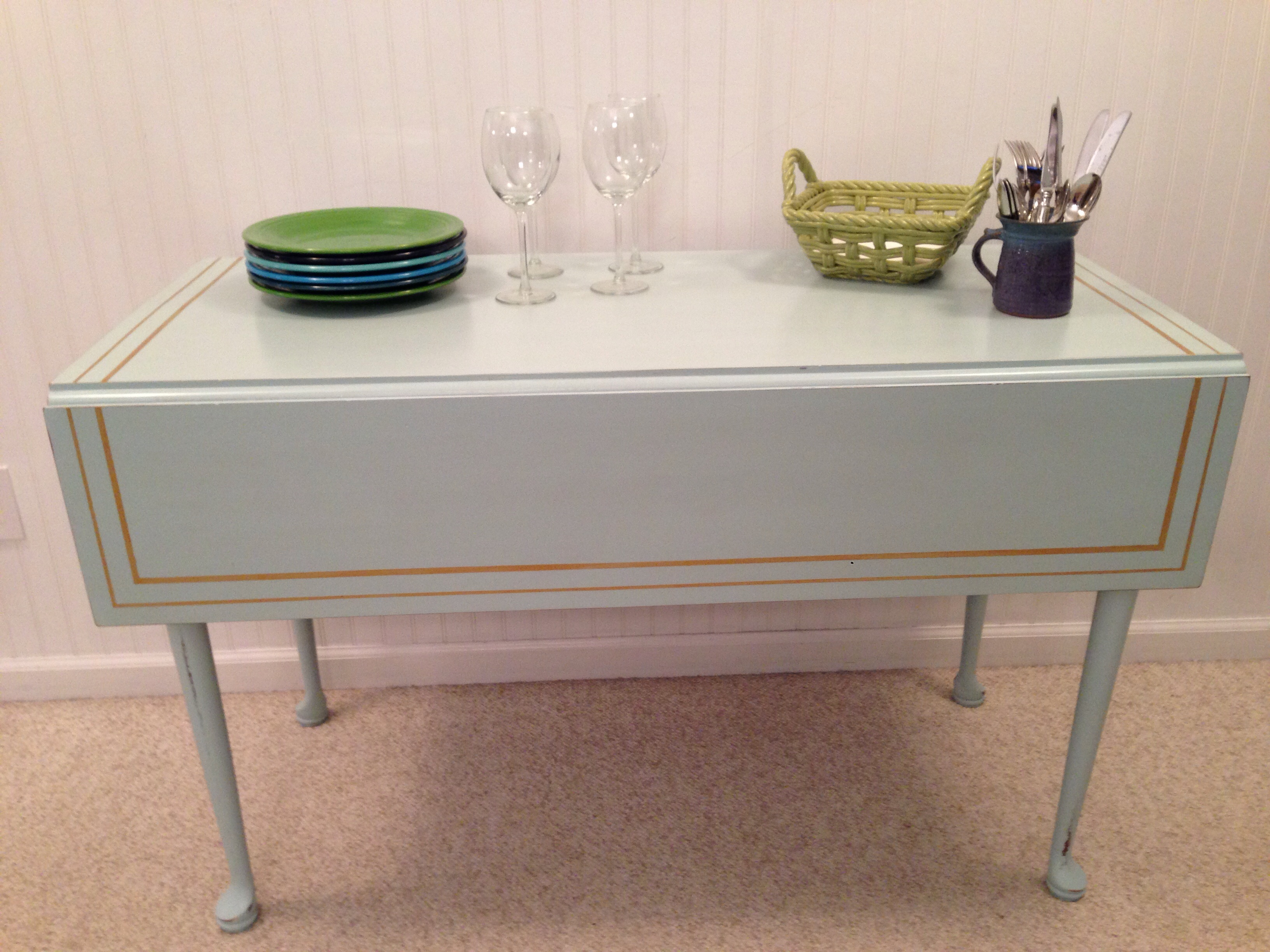 Vintage Drop Leaf Sideboard Fresh Vintage Nc