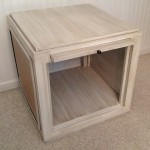 Modern Cube style end table 09