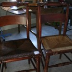 Vintage caned chairs 01