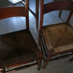 Vintage caned chairs 02
