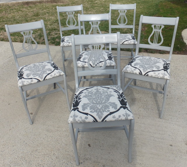 6 Duncan Phyfe chairs 07
