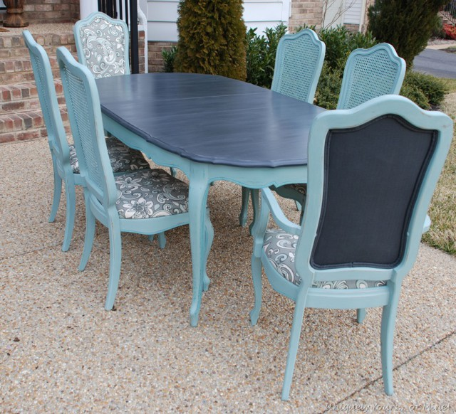 Teal Lake table