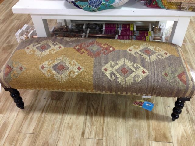 Kilim ottoman bench | Etsy | Kilim ottoman, Ottoman bench ... |Kilim Ottoman Bench